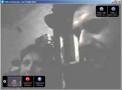 Skype Paolo Dori e Yuri