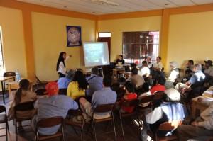 Presentazione Akakor al III Congresso Boliviano di Speleologia