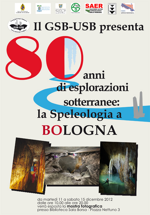 Bologna 80 anni speleologia