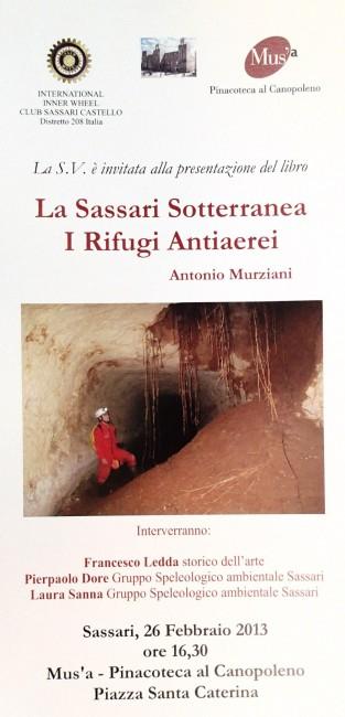locandina sassari sotterranea