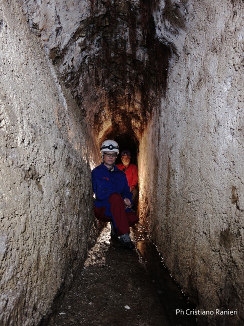 Primo tratto del condotto sotterraneo