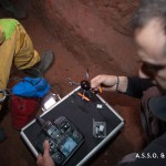 Sperimentazione micro-drone in grotta 005