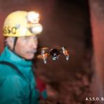 Sperimentazione micro-drone in grotta 011