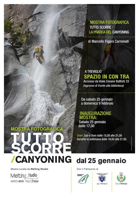 Associazione Italiana Canyoning - Mostra fotografica Tutto Scorre 2014