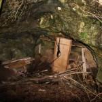 Grotta della Tartaruga prima del'intervento dei soci CGEB