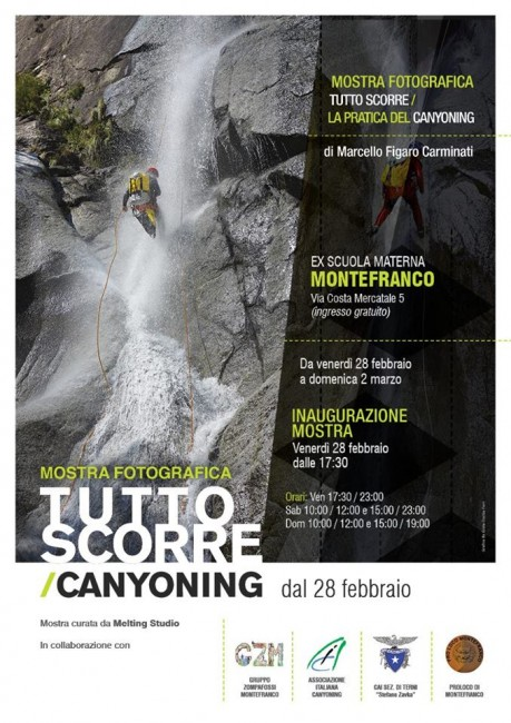 tutto scorre, canyoning