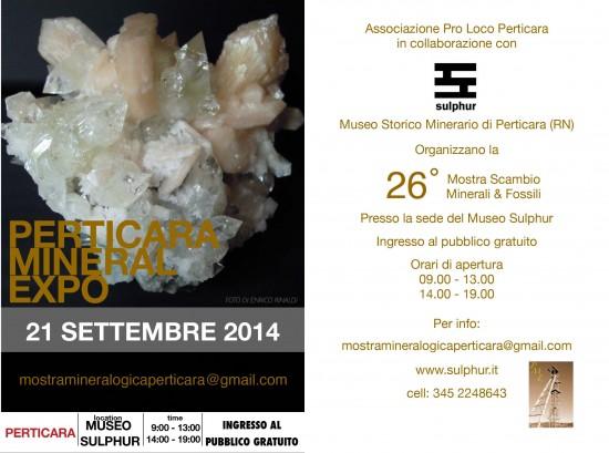 Mineral Expo, Perticara 21 Settembre 2014