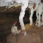 colonne nella Cueva dell'Aria foto A.Iemmolo