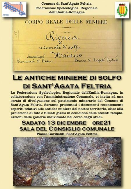 Le Antiche Miniere di Solfo di Sant'Agata Feltria