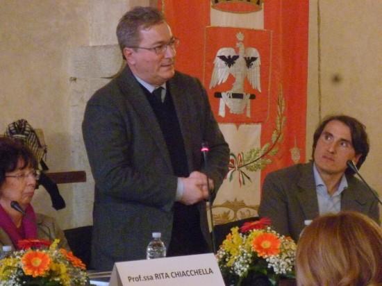 Il discorso del presidente del GAL Media Valle del Tevere Walter Trivellizzi
