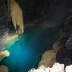 il lago sifone della grava del Minollo