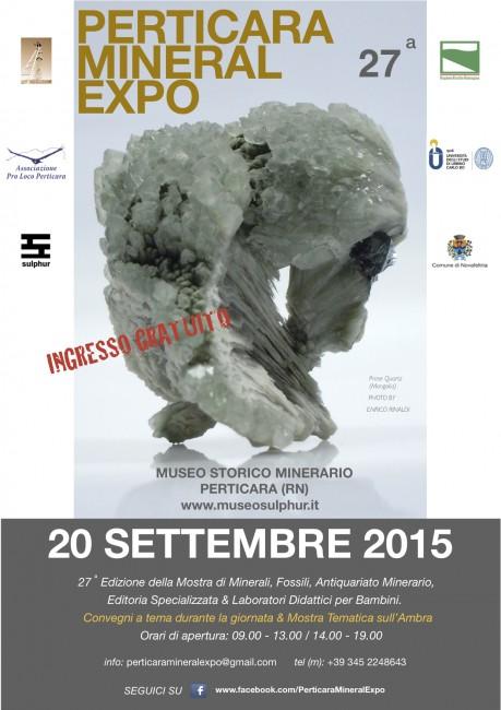 Locandina Perticara Mineral Expo