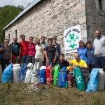 I componenti della spedizione al villaggio di Curraj i Eperm