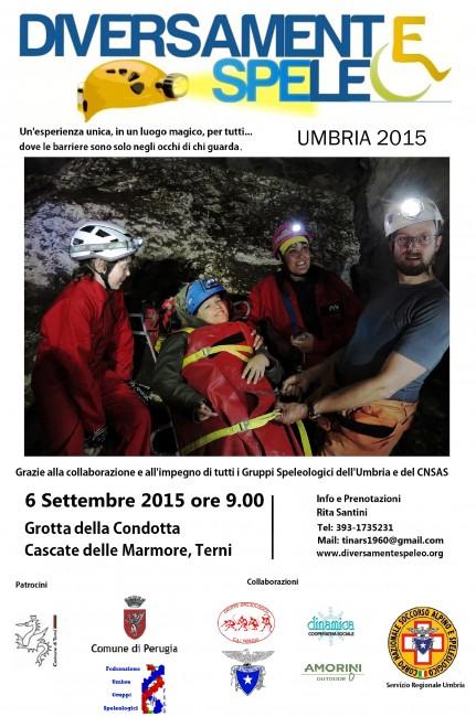 Diversamente speleo Umbria 2015