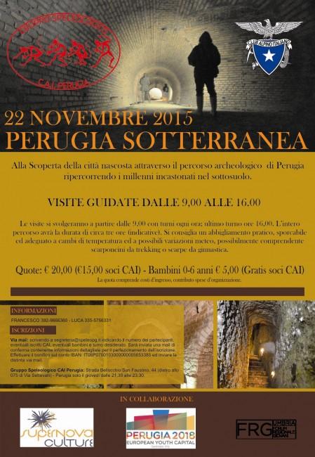 Perugia Sotterranea 2015