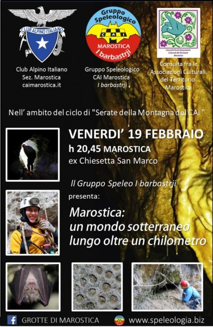 19 feb 2016 serata grotte Marostica i barbastrji