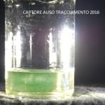 Estrazione fluorescina dei captori posizionati alla risorgendo dell'Auso