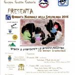 Giornata Nazionale della Speleologia 2016, anche a Catania e sull'Etna