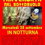 Speleologi per una notte a Marostica (VI). Escursione per chi vuole avvicinarsi alla speleologia