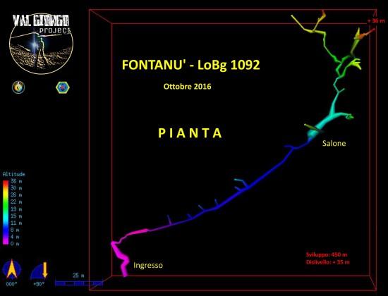 Fontanù LoBg 1092 - Pianta Ottobre 2016