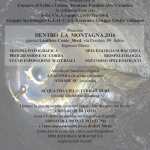 Montagna in Città – Schio 15-16 ottobre 2016