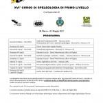 Programma_XVI_Corso_Speleologia