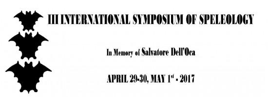 manifesto simposio internazionale di speleologia