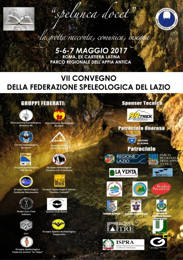 VII Convegno Federazione Speleologica del Lazio