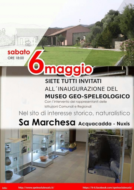 nuxis Museo geo speleologico
