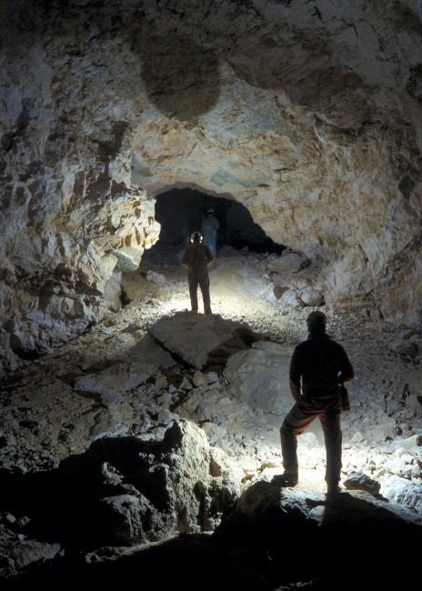 Rami del Vecchio Trippa, ca. -700 m (foto E. Anzanello)