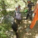 Il-sollevamento-dei-sacchi-pieni-di-rifiuti-Foto di Loretta-Crestani