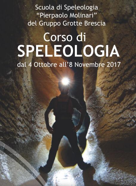 Corso di introduzione alla Speleologia a Brescia