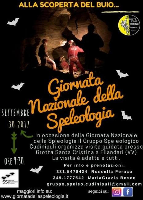 Giornata nazionale della Speleologia Cudinipuli