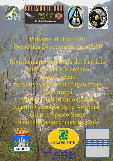 Puliamo il buio 2017 Basilicata
