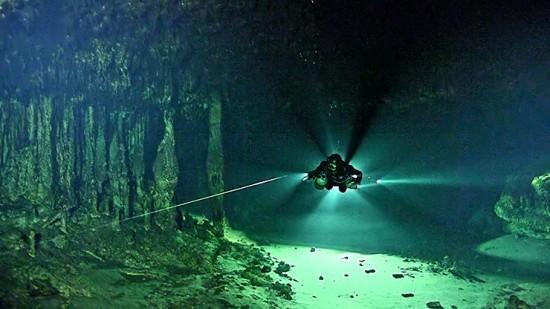 speleosub ricerca metano yucatan