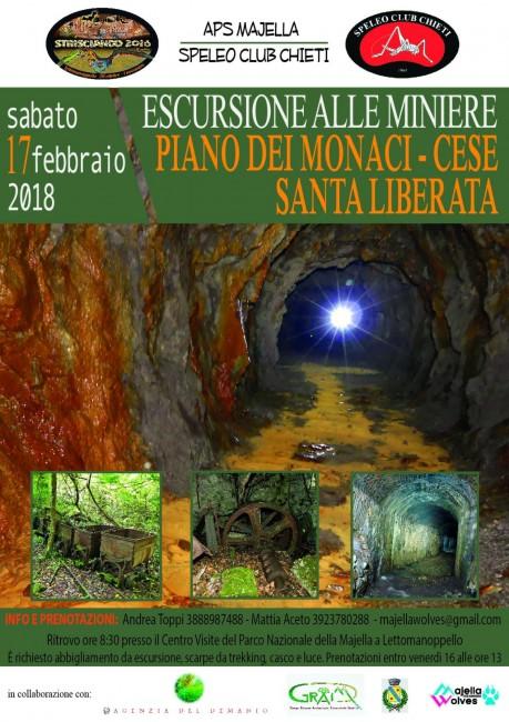 685a0c2a7853 ESCURSIONE ALLE MINIERE DI PIANO DEI MONACI-CESE E SANTA LIBERATA ...