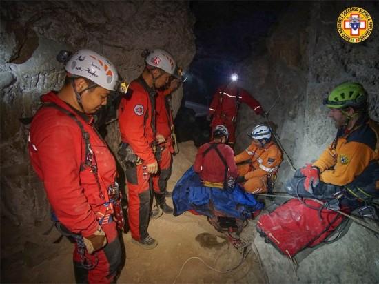 CNSAS soccorso Addestramento Cina