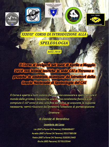Corso Speleologia Teramo