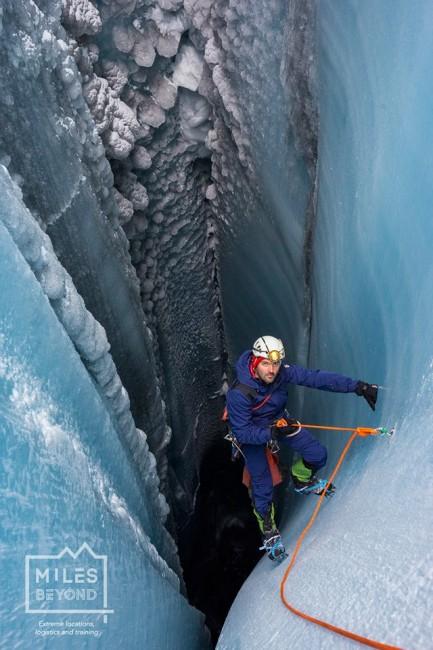 Groenlandia mulini glaciali Ghiacciaio