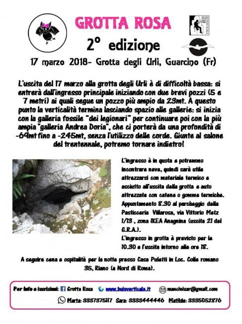 Grotta Rosa Guarcino