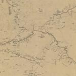 Forse la prima carta quasi topografica della Valle di Baliem, realizzata dagli Olandesi nel settembre del 1956.