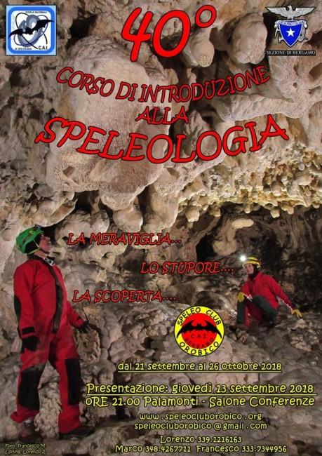 Corso Speleologia a Bergamo