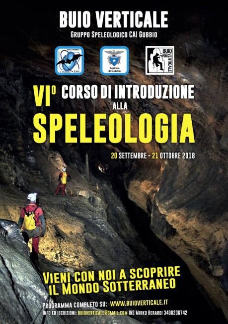 Corso speleologia a Gubbio