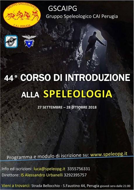 Corso Speleologia Perugia
