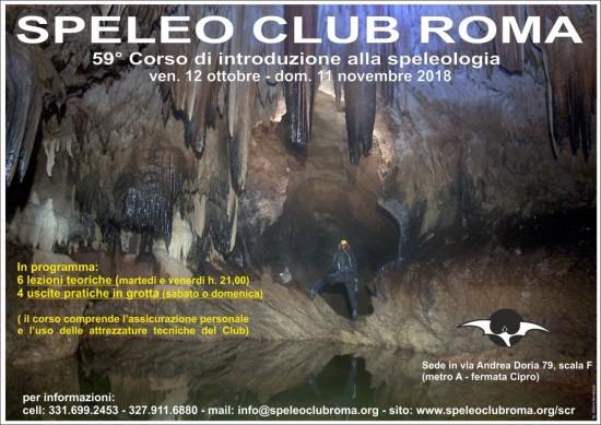 Corso di speleologia Roma