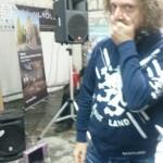 Sandro e la macchinetta del .... (foto Augusto Rossi)