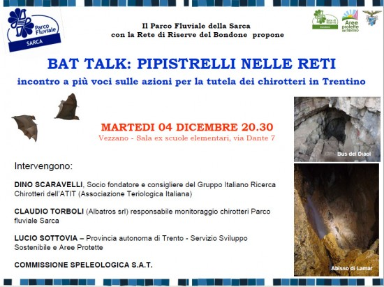 Bat Talk serata a vezzano