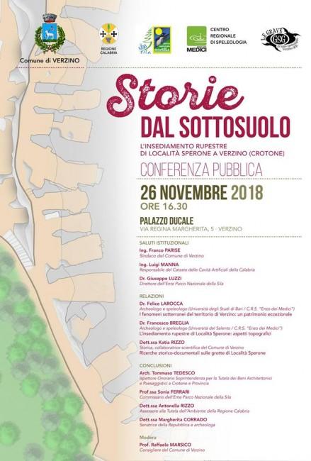 conferenza pubblica Storie dal Sottosuolo