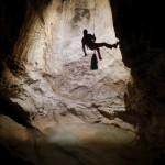Discesa nel canyon da 1km