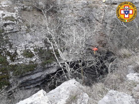 Incidente soccorso CNSAS Grotta Noè